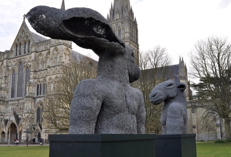 Lady Hare and Minotaur Torsos